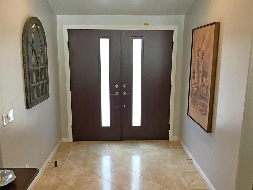 Entry Door Replacement Project in Rancho Santa Fe