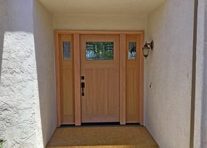 Entry door - after exterior.6-29-20