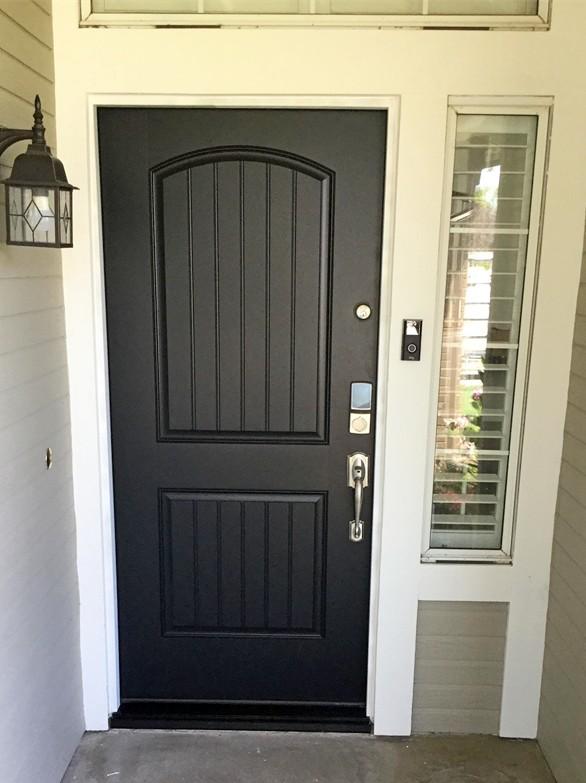Exterior prehung door - after.6-29-20