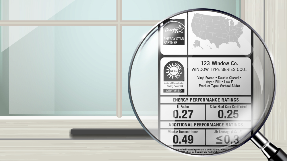 Window Efficiency Labels Explained